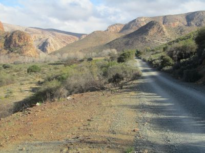 Hiking the Baviaanskloof with the Christian Hiking Network