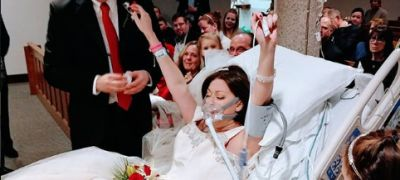 Christian woman gets married in hospital hours before dying from cancer