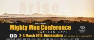 First Mighty Men Eastern Cape a fortnight away