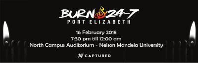 Burn 24-7 hosting #captured event at NMU campus