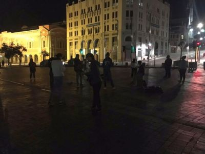 """PE worshipers taking nightly """"Stand"""" in front of city hall"""