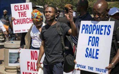 Christian group march against false prophets