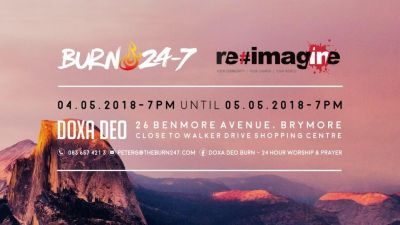 Burn 24-7 linking up with #imagine for 24-hour PE worship event