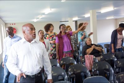Revival service leader declares 'day of deliverance'