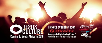'Jesus Culture' back in South Africa