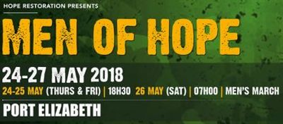 Men of Hope holding first PE conference this weekend