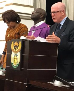 Prayer, Prophecy And Politics In SA Parliament - Tshego