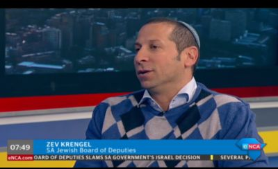 SA Christians, Jews react to recall of SA ambassador to Israel