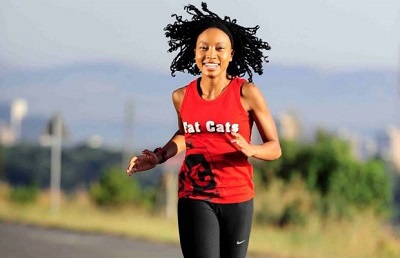 Zanele Hlatshawayo runs to fight depression and save lives