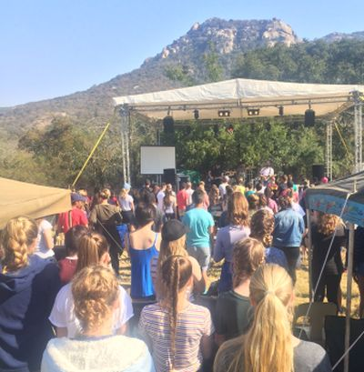 Mighty harvest at second Mbombela Groundswell camp