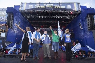 Cheers, prayers for Israel as 2-million take part in March for Jesus in Brazil