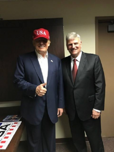 Christians in North Korea will benefit because of President Trump, says Franklin Graham