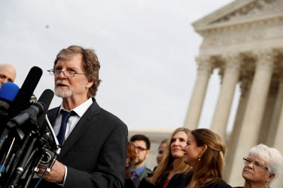 US Supreme Court rules Christian baker can refuse to make gay wedding cakes