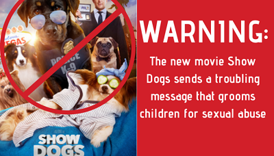 Call to boycott movie 'Show Dogs' over sexual grooming message
