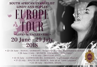 Dreaming with God in Europe — Lindy-Ann Hopley