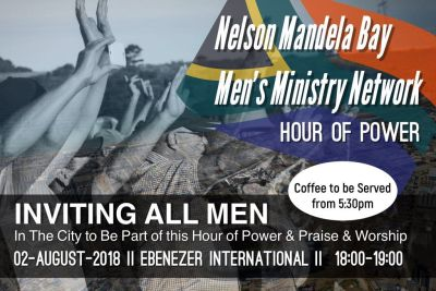 Men of Nelson Mandela Bay uniting for 'Hour of Power'