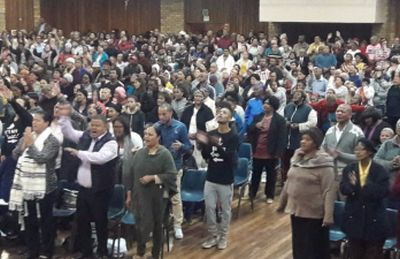 Uitenhage prayer rally 'shuts down' enemy activity