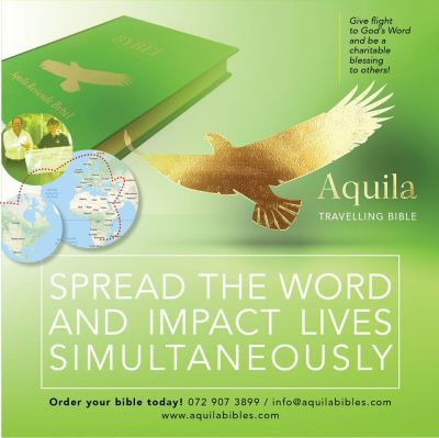 Aquila Travelling Bible Project ready to soar like eagle — Advertorial