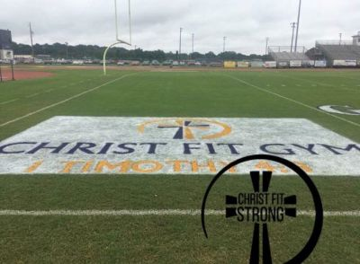School erases name of Christ off football field — faces court challenge