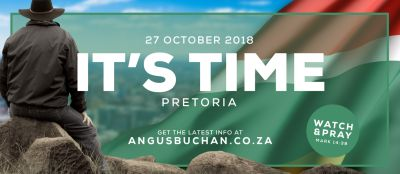 WATCH: Why it is urgent for you to be at It's Time Pretoria — Angus Buchan