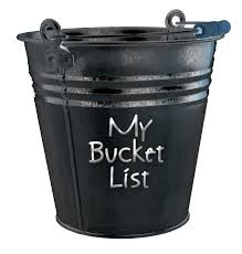 About that bucket list — Tendai Chitsike