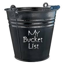 About that bucket list — Tendai Chitsike