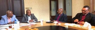 PE church leaders meet with mayor