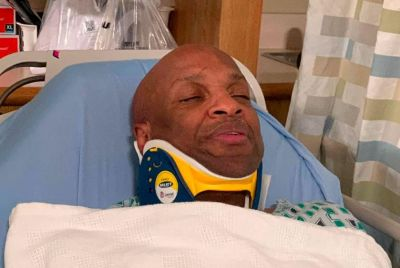 Gospel artist Donnie McClurkin says two human angels rescued him from car crash