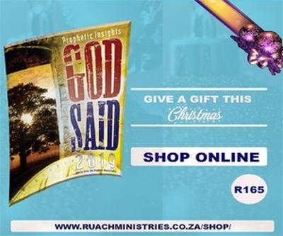 NEW BOOK: God Said 2019 — Advertorial