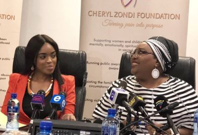 Cheryl Zondi launches foundation to help victims abused in 'sacred places'