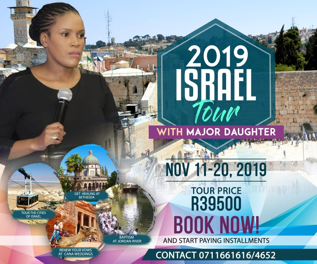 Visit the lands of the Bible with Major Daughter — Advertorial