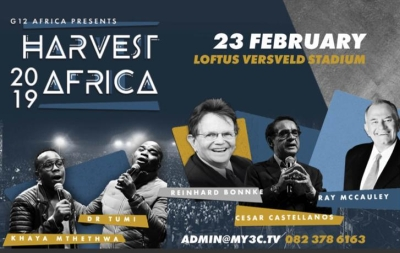 Relentless soul-winner Reinhard Bonnke at Loftus stadium next week