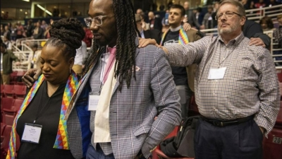 United Methodist Church votes against recognising gay marriage