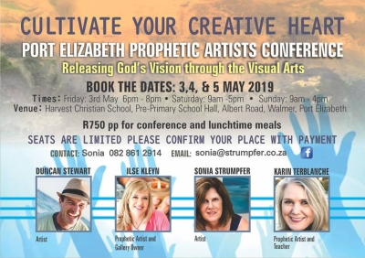 Artists who know the Creator to speak at PE prophetic art conference