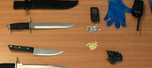 Crack cocaine, knives surrendered during London church service