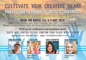 Stirring up the prophetic among creatives — Sonia Strumpher