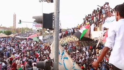 Christians watching, praying, after overthrow of Sudanese dictator