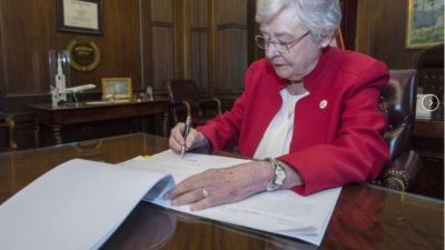 Alabama governor signs tough abortion law, says every life is from God