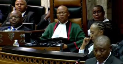 WATCH: President thanks Chief Justice for his unprecedented prayer in Parliament