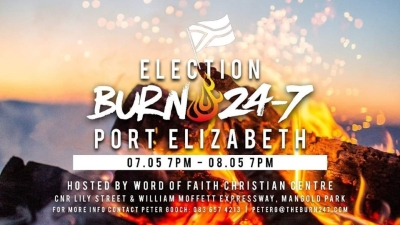 Growing list of worship events in SA before, during elections