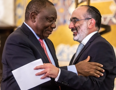 Chief Rabbi calls for prayers for Ramaphosa