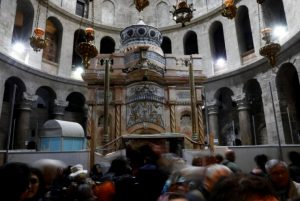 Restoration of Jerusalem's Church of the Holy Sepulchre moves ahead