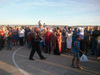 Pastors, youth prayer-walking against gang violence