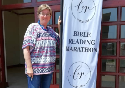 Time to book slots in the amazing Bible Reading Marathon in Despatch