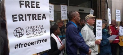 Christian group urges action on human rights abuses in Eritrea