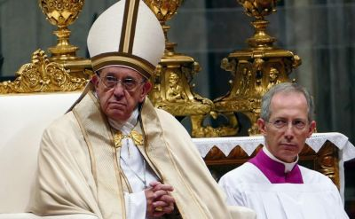 Petition asks Pope Francis to abandon changes to English 'Our Father'