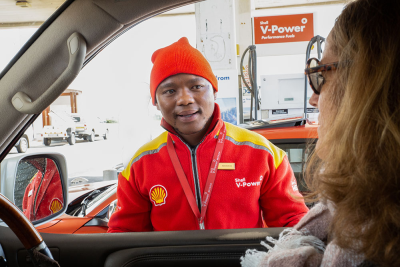 Meet the garage attendant who paid for his customer's petrol