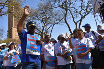 ACDP leaders, parents, take strong stand against CSE during Pretoria protest march