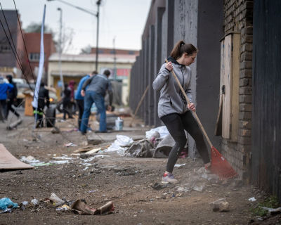 Joint campaign to bring relief to city-centre shack dwellers hit by Pretoria violence