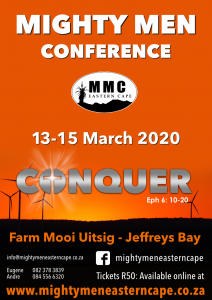 Help needed with preparations for Mighty Men Jeffreys Bay 2020